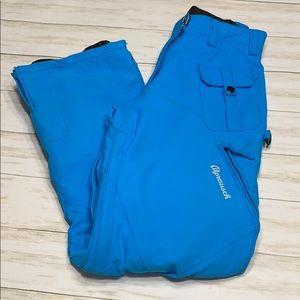 Size M Alprausch Blue Ski/Snow Pants